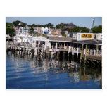 Puerto de Hyannis, Cape Cod Tarjeta Postal