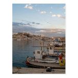 Puerto de Ibiza Tarjeta Postal