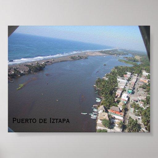 Puerto de Iztapa Póster