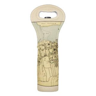Puerto de la barra bolsas para botella de vino