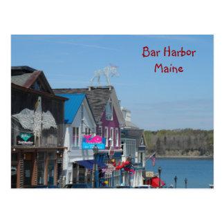 Puerto de la barra, Maine Tarjetas Postales