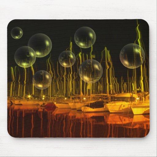 Puerto de la burbuja alfombrillas de ratones