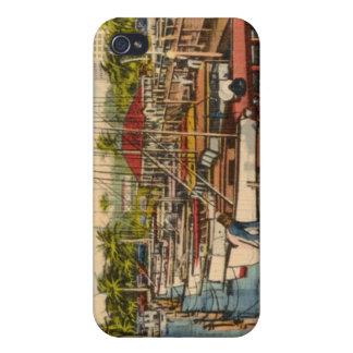 Puerto de la Florida iPhone 4/4S Carcasas