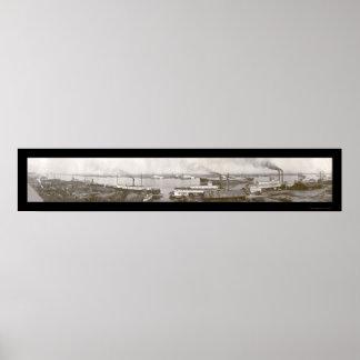 Puerto de la foto móvil 1909 del AL Póster