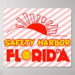 Puerto de la seguridad, la Florida Posters