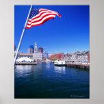 Puerto de los E.E.U.U., Massachusetts, Boston, Bos Póster