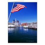 Puerto de los E.E.U.U., Massachusetts, Boston, Bos Tarjeta De Felicitación