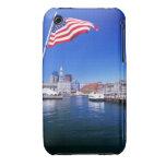 Puerto de los E.E.U.U., Massachusetts, Boston, Funda Para iPhone 3 De Case-Mate