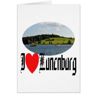 Puerto de Lunenburg Tarjeta De Felicitación