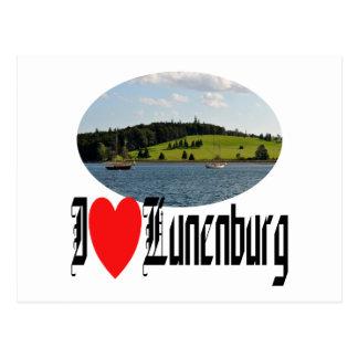 Puerto de Lunenburg Tarjeta Postal