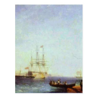 Puerto de Malta Valetto de Ivan Aivazovsky Tarjeta Postal