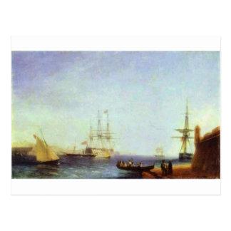 Puerto de Malta Valetto de Ivan Aivazovsky Tarjetas Postales