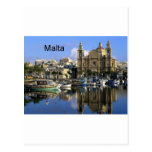 Puerto de Malta Vallete (St.K) Tarjeta Postal