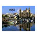Puerto de Malta Vallete (St.K) Tarjetas Postales