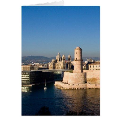 Puerto de Marsella Felicitacion