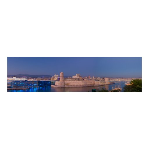 Puerto de Marsella Póster