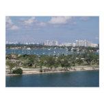 Puerto de Miami Tarjetas Postales