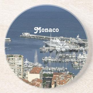 Puerto de Mónaco Posavasos Diseño