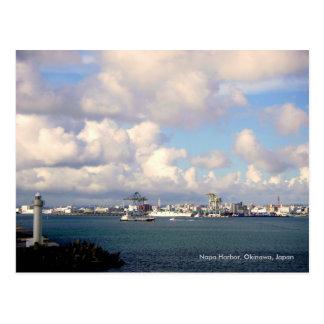 Puerto de Naha, Okinawa Japón Postales