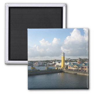 Puerto de Nassau Imán Cuadrado
