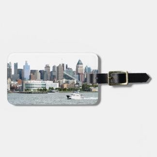 Puerto de Nueva York Etiquetas De Equipaje