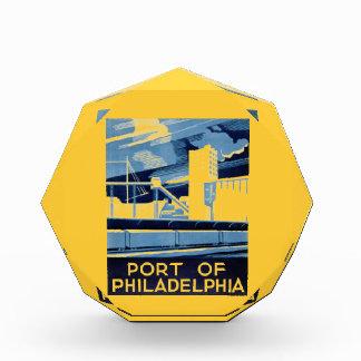 Puerto de Philadelphia Pennsylvania WPA 1936