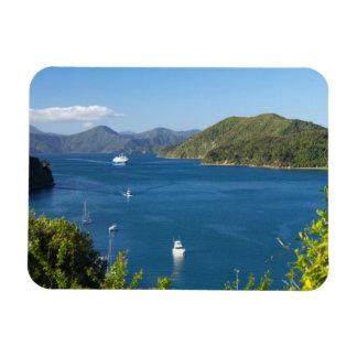 Puerto de Picton, sonidos de Marlborough, del sur Iman De Vinilo
