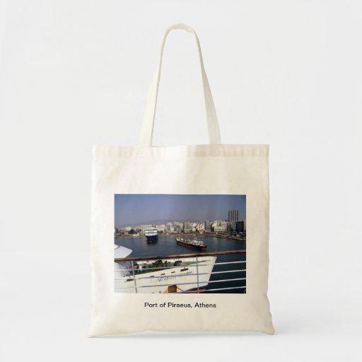 Puerto de Pireo, Atenas Bolsa Tela Barata