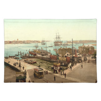 Puerto de Portsmouth, Hampshire, Inglaterra Mantel