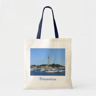 Puerto de Provincetown y la bolsa de asas del monu