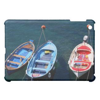 Puerto de Riomaggiore de los barcos