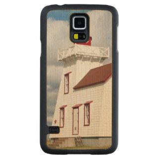 Puerto de Rustico, Isla del Principe Eduardo. Funda De Galaxy S5 Slim Arce