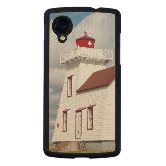 Puerto de Rustico, Isla del Principe Eduardo. Funda De Nexus 5 Carved® De Arce