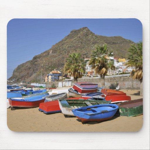 Puerto de San Andres en Tenerife Alfombrilla De Raton