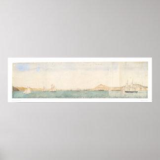 Puerto de San Francisco, California (1244) Póster