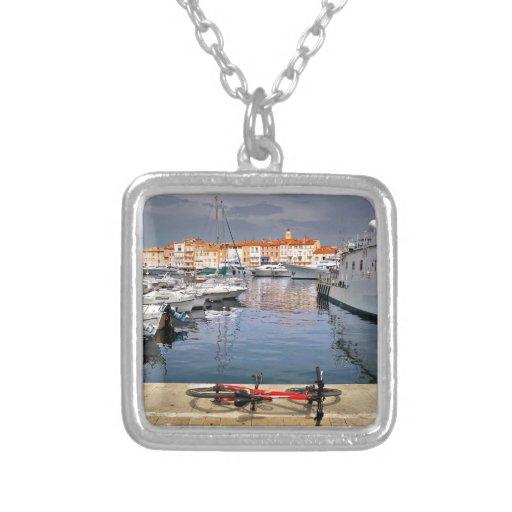 Puerto de Santo-Tropez en Francia Colgantes Personalizados