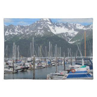 Puerto de Seward, Alaska Mantel Individual