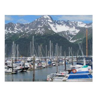 Puerto de Seward, Alaska Postales