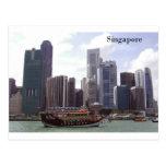 Puerto de Singapur (por St.K) Postal