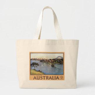 Puerto de Sydney, Australia Bolsa Tela Grande