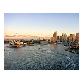 Puerto de Sydney - Australia - postal