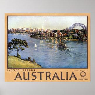 Puerto de Sydney Australia Posters
