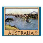 Puerto de Sydney, Australia Tarjetas Postales