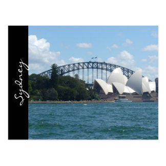 puerto de Sydney de lujo Tarjetas Postales