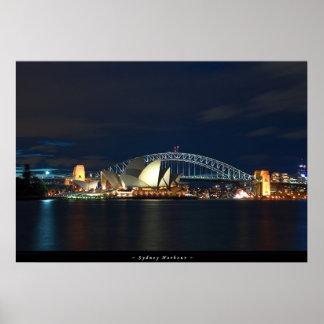 Puerto de Sydney Poster