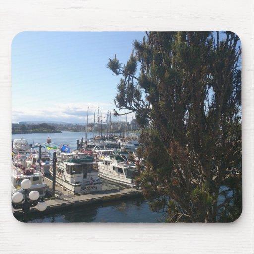 Puerto de Victoria Alfombrillas De Ratón
