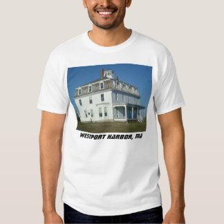 Puerto de Westport, Massachusetts Remeras