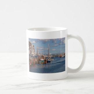 Puerto de Weymouth Taza Básica Blanca