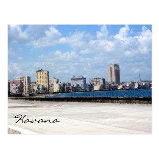 puerto del habana del malecon tarjetas postales