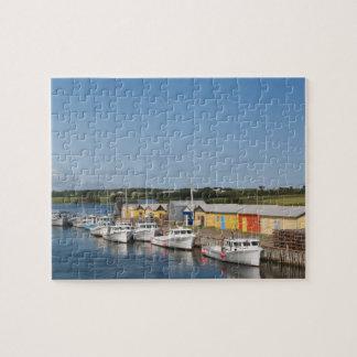 Puerto del norte del lago, Isla del Principe Eduar Puzzle Con Fotos